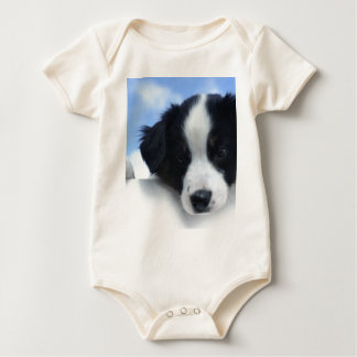 Australian Sheepdog Puppy Baby Bodysuit