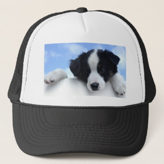 Australian Sheepdog Puppy Trucker Hat
