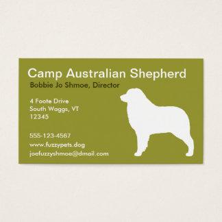 Australian Sheherd Business Card