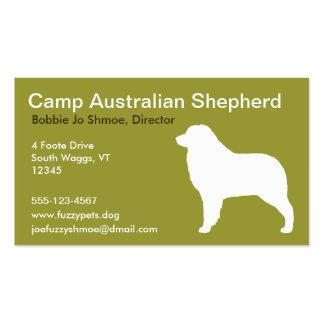 Australian Sheherd Pack Of Standard Business Cards
