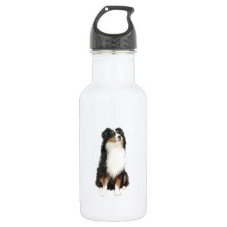 Australian Shepherd (A) - Tri Color 532 Ml Water Bottle