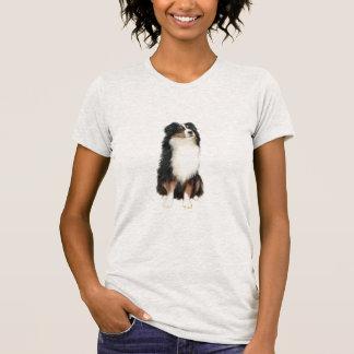 Australian Shepherd (A) - Tri Color Tshirts