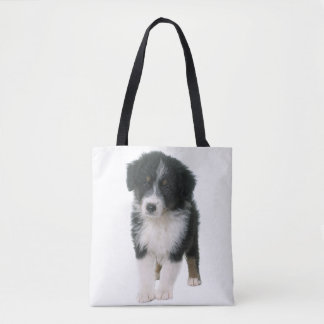 Australian Shepherd Aussie Puppy Dog Tote Bag