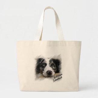 Australian shepherd Bag