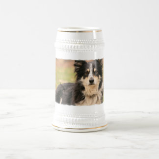 Australian Shepherd Beer Stein