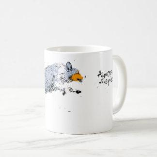 Australian Shepherd, blue merle Coffee Mug