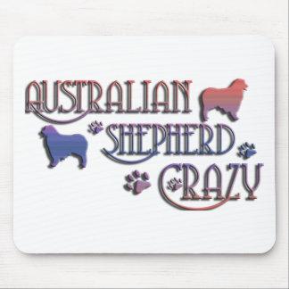 AUSTRALIAN SHEPHERD CRAZY MOUSE MAT