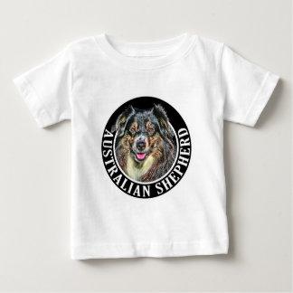 Australian Shepherd Dog 002 Baby T-Shirt