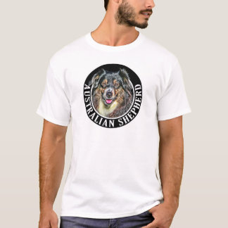 Australian Shepherd Dog 002 T-Shirt
