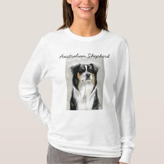 Australian Shepherd Dog Art Hoodie