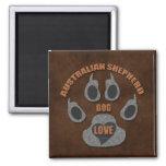Australian Shepherd Dog Breed Magnet
