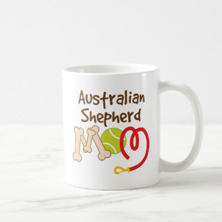 Australian Shepherd Dog Breed Mom Gift Basic White Mug