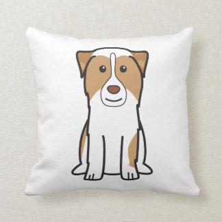 Australian Shepherd Dog Cartoon Cushion
