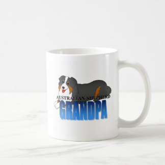 Australian Shepherd Dog Grandpa Coffee Mug