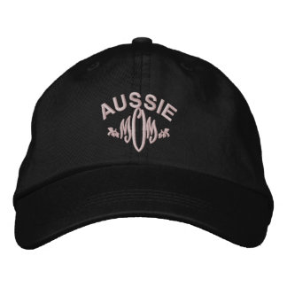 Australian Shepherd Dog Mom Embroidered Hat