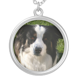 Australian Shepherd Dog Photo Necklace