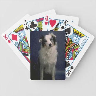 Australian Shepherd Dog Playing Cards