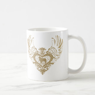 Australian Shepherd Dog Winged Heart Coffee Mug