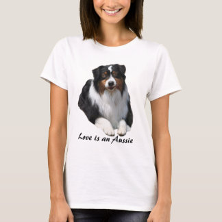 Australian Shepherd Guardian Ladies Shirt
