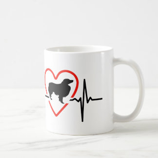 australian shepherd heart eat designs coffee mug