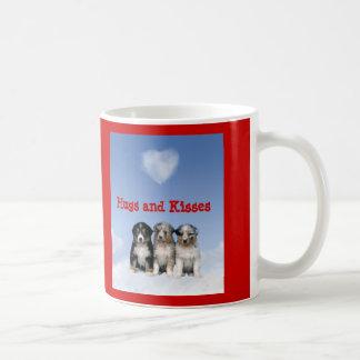 Australian Shepherd Hugs and Kisses Mug