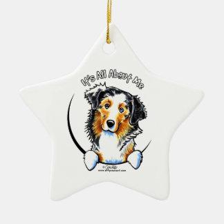 Australian Shepherd IAAM Christmas Ornament