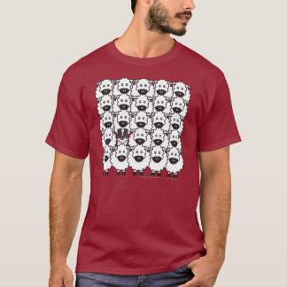 Australian Shepherd in the Sheep T-Shirt