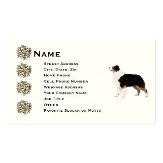 Australian Shepherd Indestructible Business Card