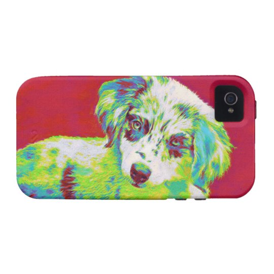 australian shepherd iphone Case-Mate iPhone 4 covers