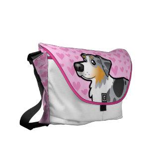 Australian Shepherd Love Commuter Bags