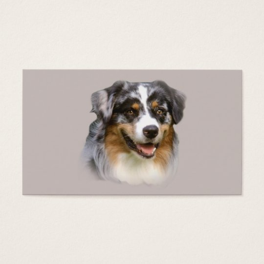 Australian Shepherd Lover Business Card
