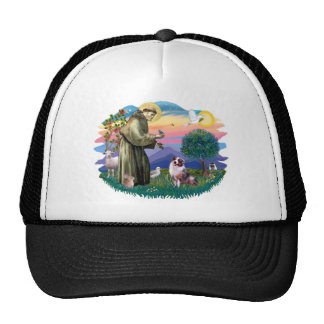 Australian Shepherd (merle) Trucker Hat
