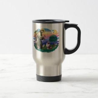 Australian Shepherd (merle) Stainless Steel Travel Mug