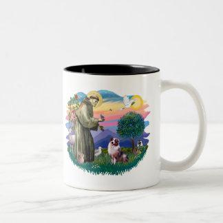 Australian Shepherd (merle) Two-Tone Mug
