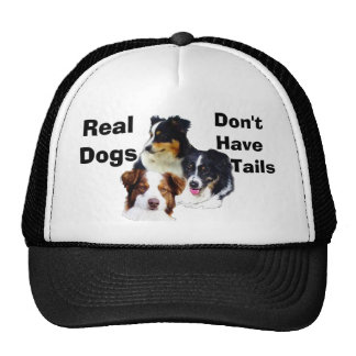 Australian shepherd mesh hats