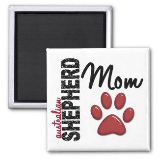 Australian Shepherd Mom 2 Magnet