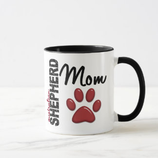 Australian Shepherd Mom 2 Mug