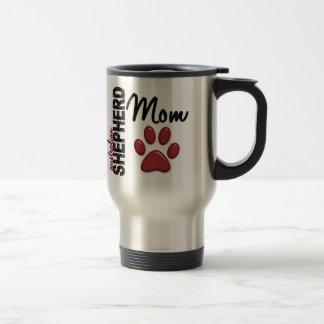 Australian Shepherd Mom 2 Stainless Steel Travel Mug