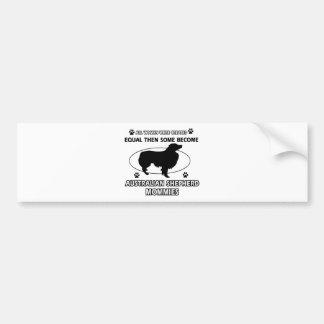 Australian Shepherd Mommies Bumper Sticker