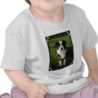Australian Shepherd Photo Design Baby T-Shirt