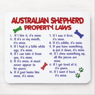 AUSTRALIAN SHEPHERD Property Laws 2 Mouse Mat