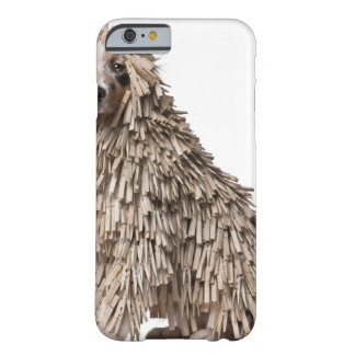 Australian Shepherd puppy full of Clothespin (5 Barely There iPhone 6 Case
