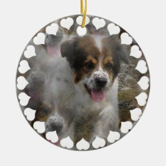 Australian Shepherd Puppy Ornament