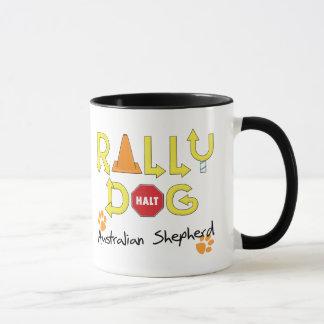 Australian Shepherd Rally Dog Mug