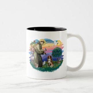 Australian Shepherd (red / white)) Two-Tone Mug