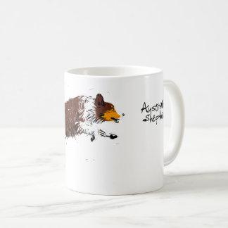 Australian Shepherd, talk trichloroethylene Coffee Mug