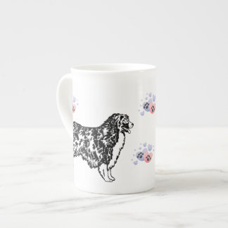 Australian Shepherd Tea Cup