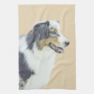 Australian Shepherd Tea Towel
