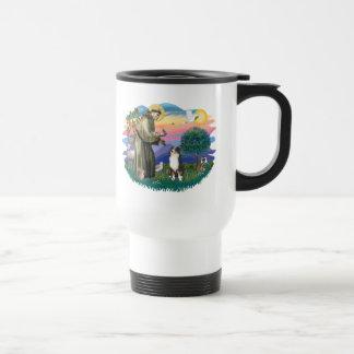 Australian Shepherd (tri) Stainless Steel Travel Mug