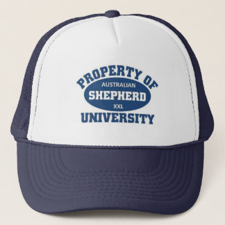 Australian Shepherd University Trucker Hat